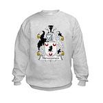 Newcomen Family Crest Kids Sweatshirt