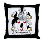 Newcomen Family Crest Throw Pillow