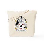 Newcomen Family Crest Tote Bag