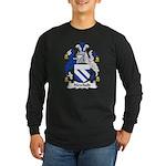 Newbold Family Crest Long Sleeve Dark T-Shirt