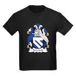 Newbold Family Crest Kids Dark T-Shirt