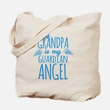 My Grandpa is my Guardian Angel Tote Bag