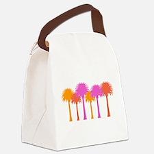 Unique Palms Canvas Lunch Bag