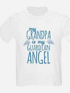 My Grandpa is my Guardian Angel T-Shirt