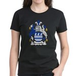 Newarke Family Crest Women's Dark T-Shirt