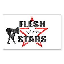 Knocked Up Flesh of The Stars Sticker (Rectangular
