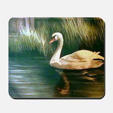 Swan Painting Mousepad