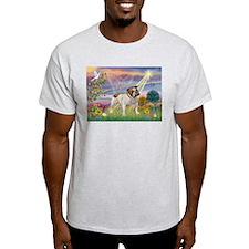 Cloud Angel & English Bulldog T-Shirt