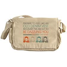 Modern Family Denim Vest Messenger Bag