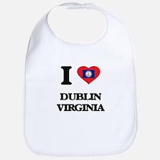 I love Dublin Virginia Bib