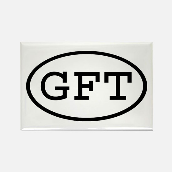 GFT Oval Rectangle Magnet