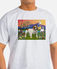 English Bulldog Fantasyland T-Shirt
