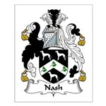 Nash Family Crest Small Poster