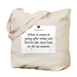 Lesson #20 Tote Bag