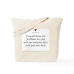 Lesson #40 Tote Bag