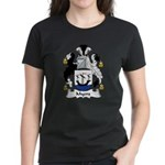 Myers Family Crest Women's Dark T-Shirt