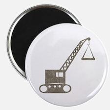 Vintage crane Magnet