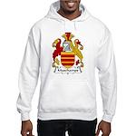 Muschamps Family Crest Hooded Sweatshirt