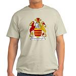 Muschamps Family Crest Light T-Shirt