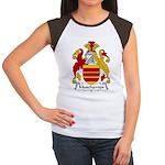 Muschamps Family Crest Women's Cap Sleeve T-Shirt
