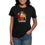 Muschamps Family Crest Women's Dark T-Shirt