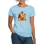 Muschamps Family Crest Women's Light T-Shirt