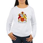 Muschamps Family Crest Women's Long Sleeve T-Shirt
