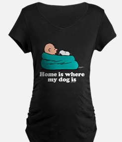 Charlie Brown: Home is Wher T-Shirt