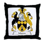 Munn Family Crest Throw Pillow