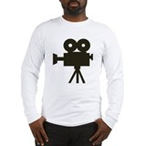 Video camera Long Sleeve T-shirts