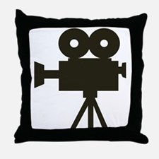 Videocamera Throw Pillow