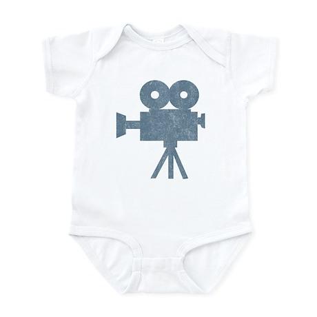 Vintage Videocamera Infant Bodysuit