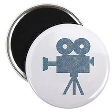 Vintage Videocamera Magnet