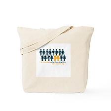 1 In 8 Tote Bag