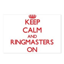 Keep Calm and Ringmasters Postcards (Package of 8)