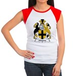 Moynes Family Crest Women's Cap Sleeve T-Shirt