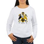 Moynes Family Crest Women's Long Sleeve T-Shirt