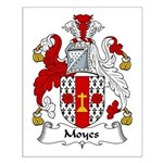 Moyes Family Crest Small Poster