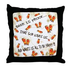 Humorus Throw Pillow