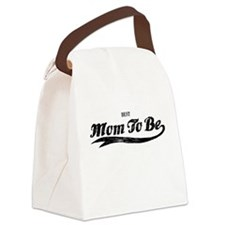 Best Mom To Be Canvas Lunch Bag