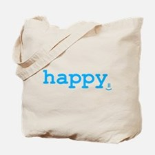 happy. Tote Bag