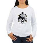 Mott Family Crest  Women's Long Sleeve T-Shirt