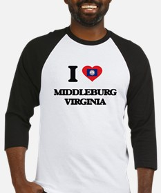 I love Middleburg Virginia Baseball Jersey