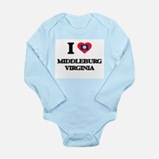 I love Middleburg Virginia Body Suit