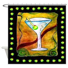 Unique Martinis Shower Curtain