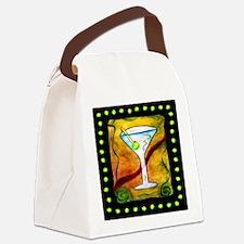Unique Martini Canvas Lunch Bag