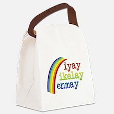 I Like Men Canvas Lunch Bag