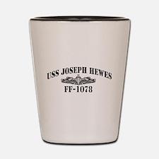 USS JOSEPH HEWES Shot Glass