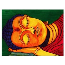 Resting his eyes Canvas Art