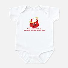 Horns-n-Halo Infant Bodysuit